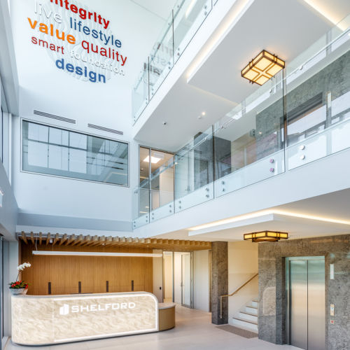 SHELFORD HEAD OFFICE FITOUT